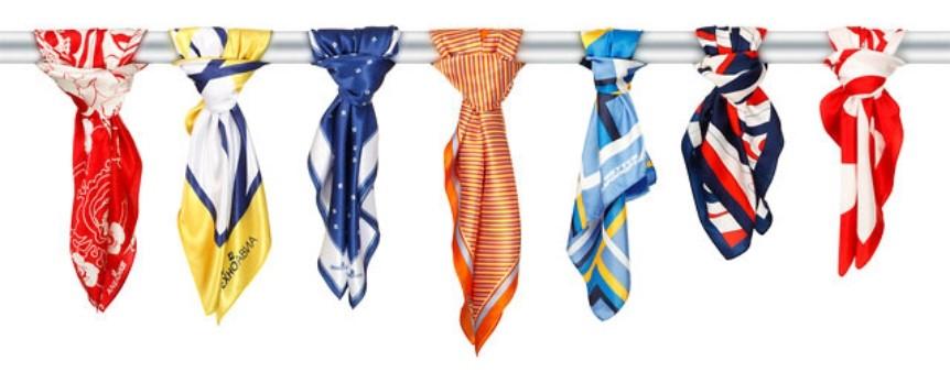 6140cc4c1856 Шейные платки, галстуки, банданы